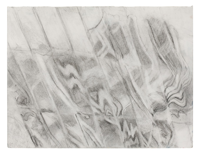 "Outside of Oceania, II, Pencil on paper, 10.5"" x 13.5"", 2011"